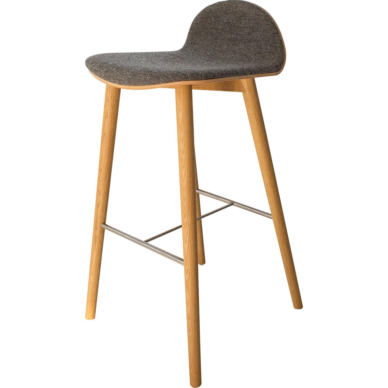 nam nam wood stool low back nam nam products icons of denmark. Black Bedroom Furniture Sets. Home Design Ideas