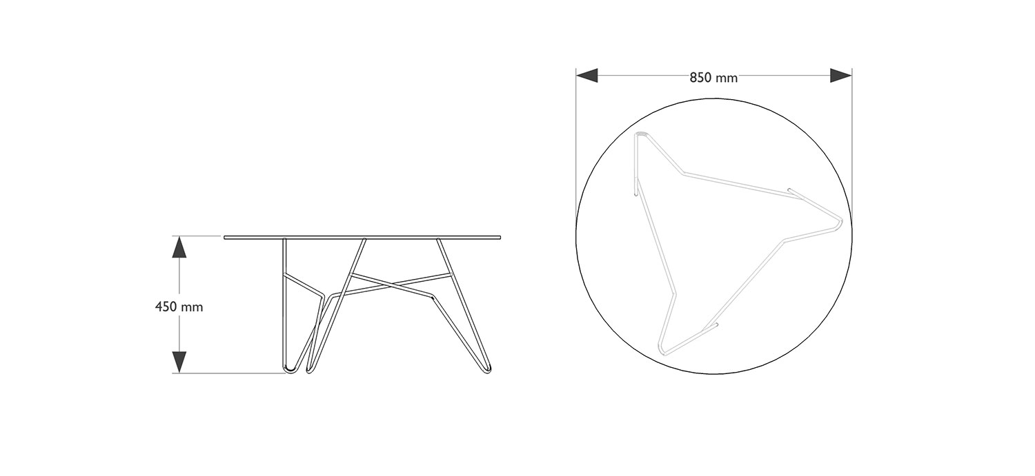 Twist Table Coffee Tables Products Icons Of Denmark Massimo Oil Wiring Diagram Zoom